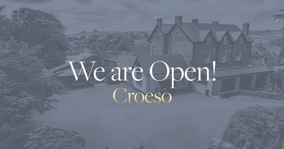 We Are Open, Croeso!